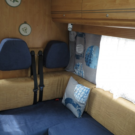Exemples de d cos de camping car for Interieur camping car